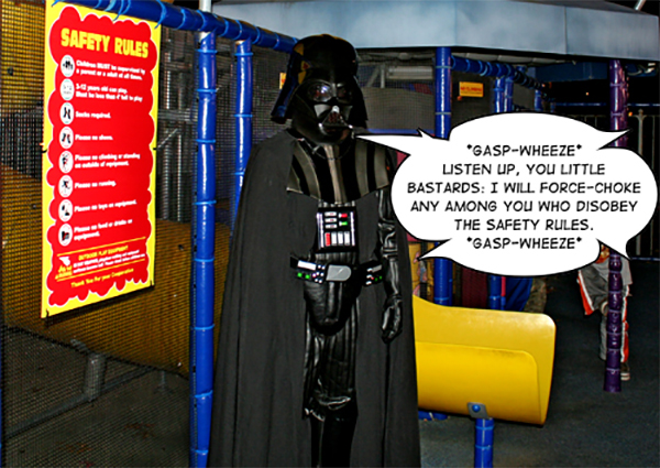 Darth Vader: Sith Lord & McDonald's Playground Safety Officer