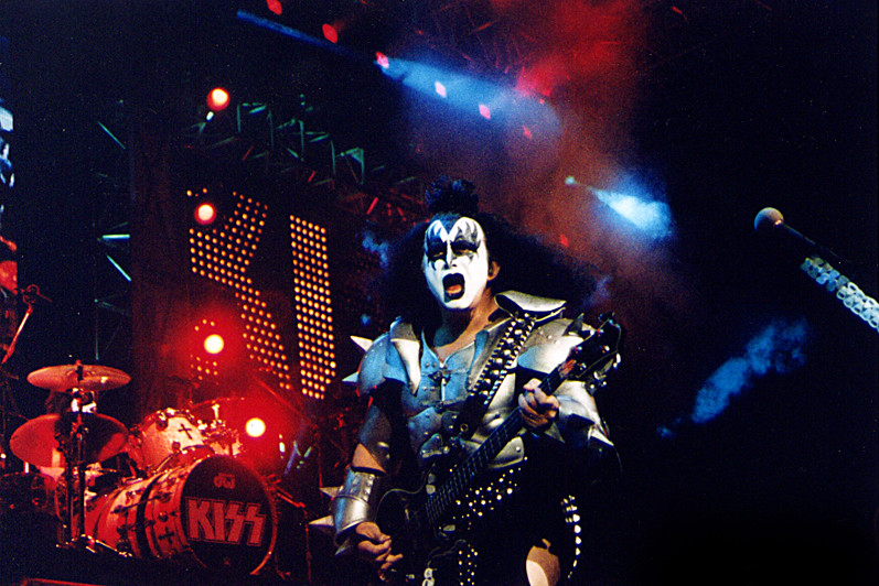 Gene Simmons on stage