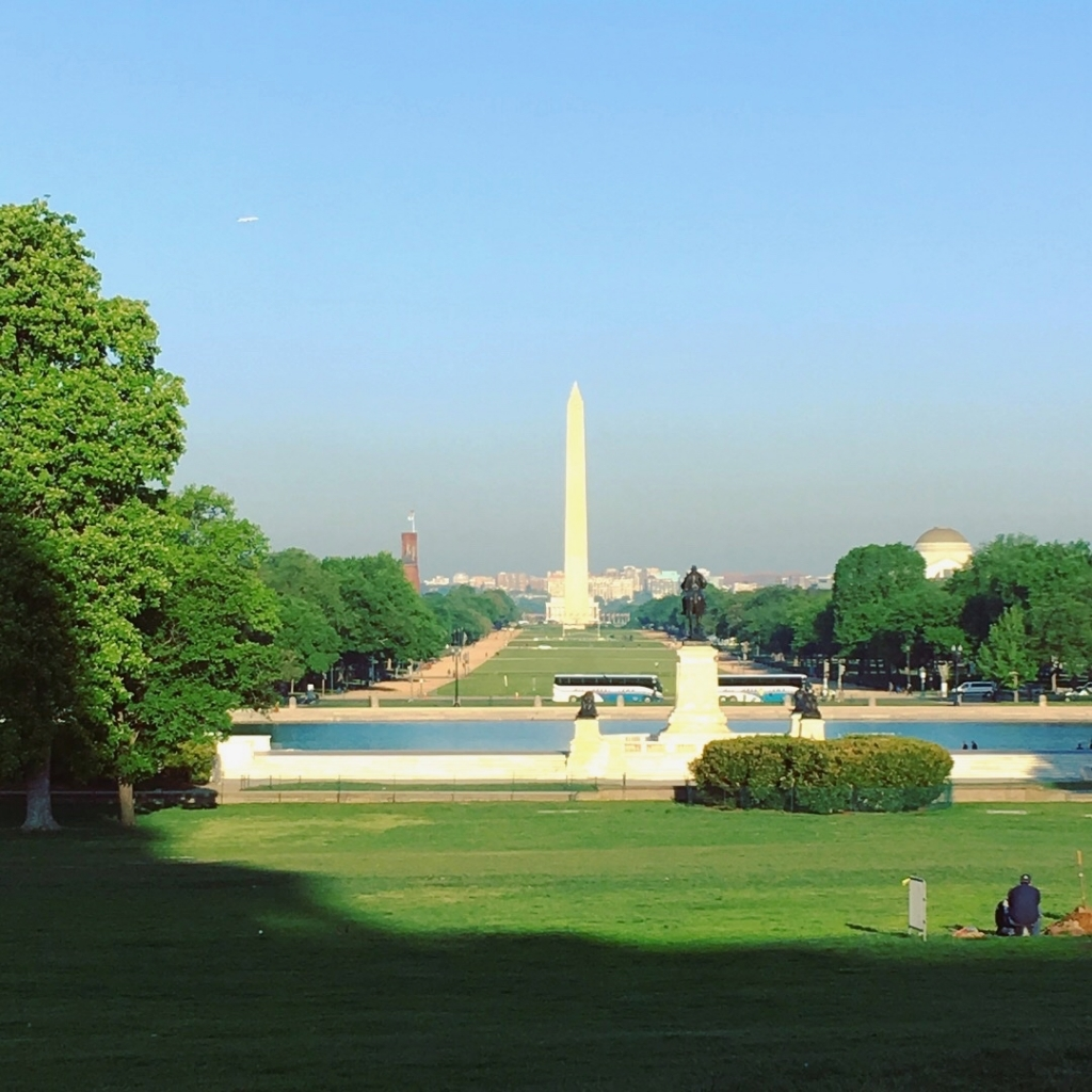 National Mall in the morning
