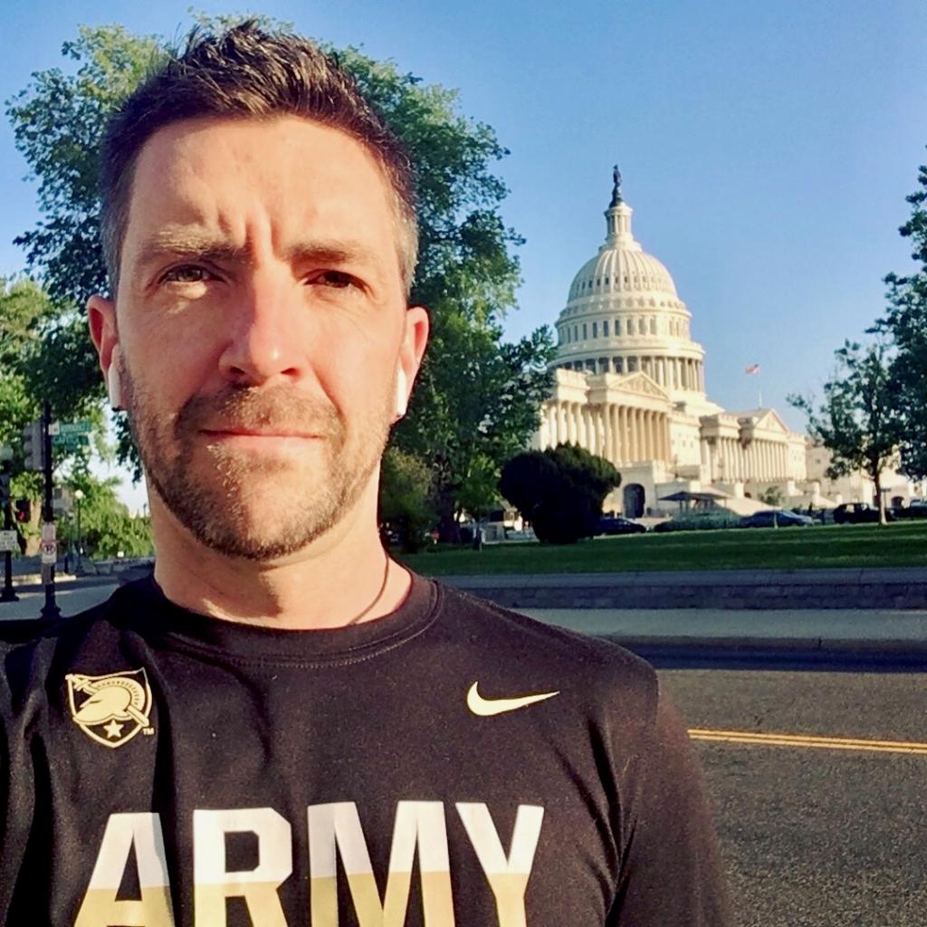 Morning run in DC