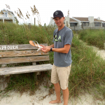 My man Sam Shelby cleaning up Wrightsville Beach