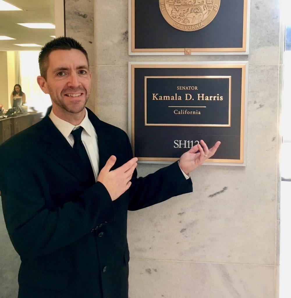 Me @ Kamala Harris's office