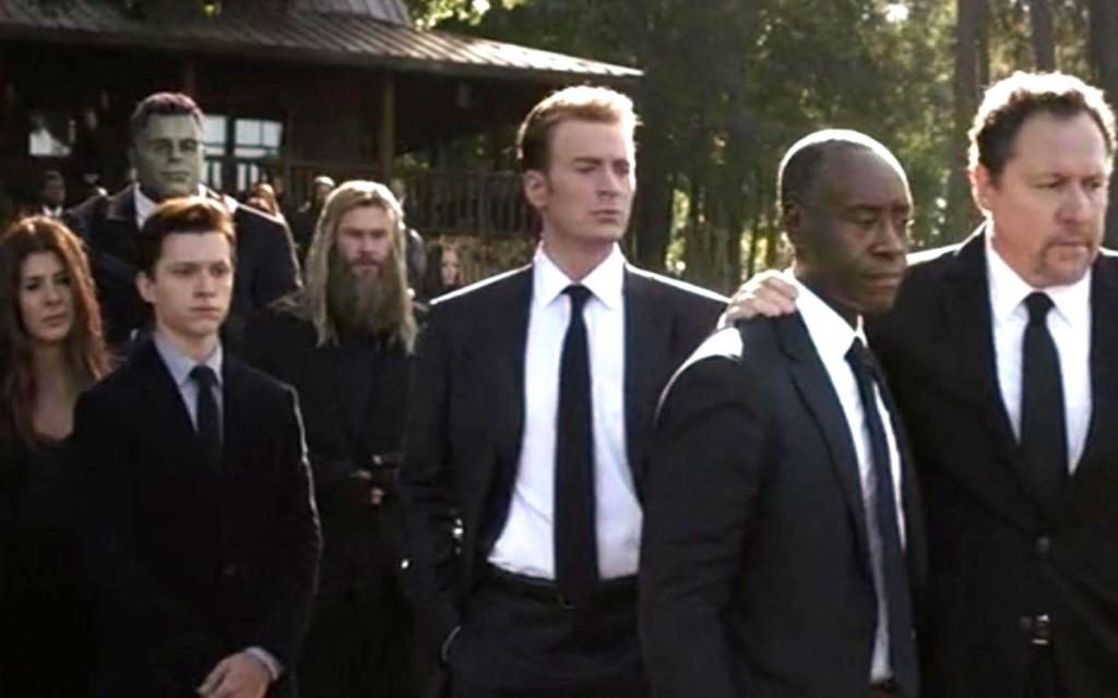 Avengers funeral