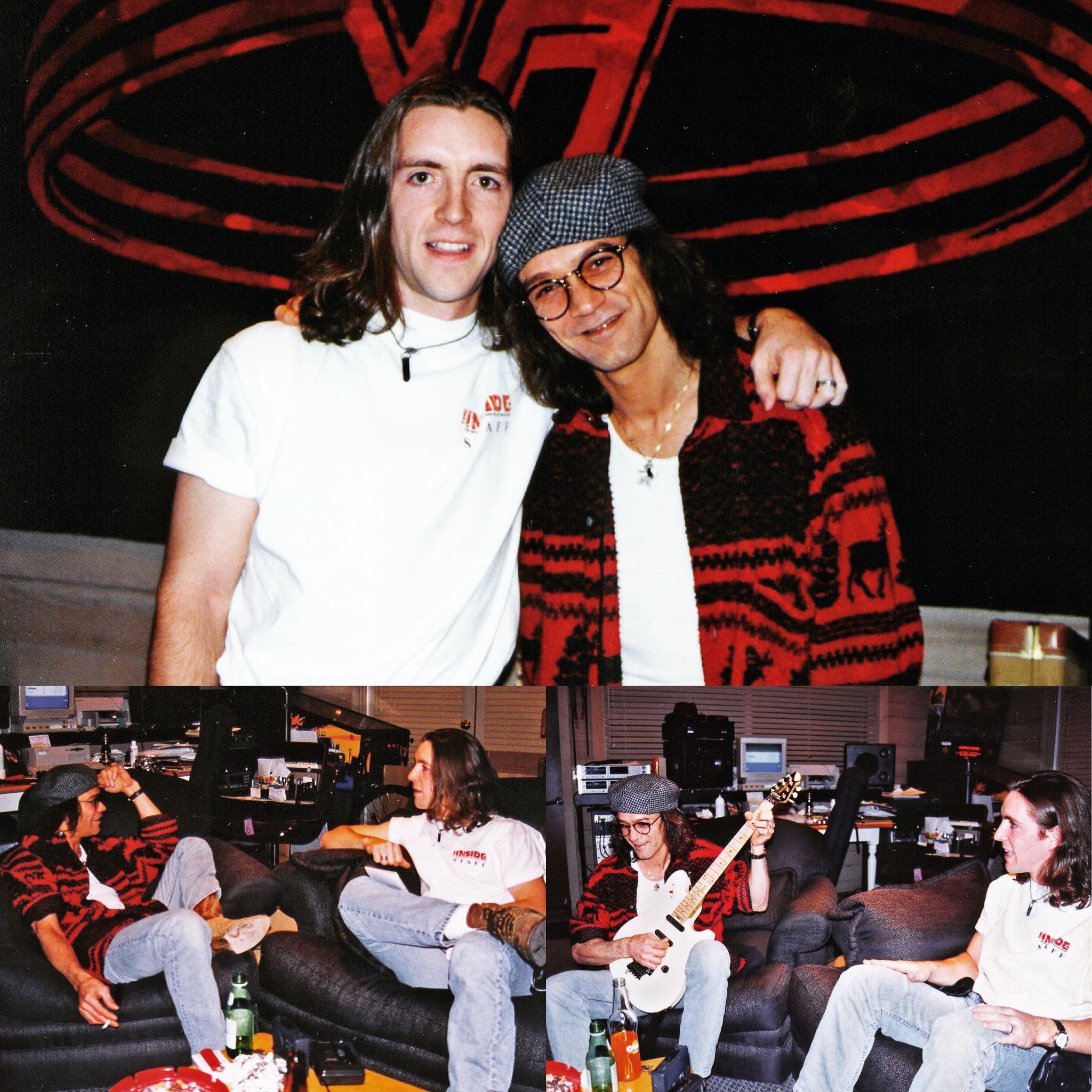 Me & Eddie Van Halen